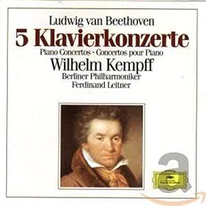 Beethoven-Kempff-Les 5 Concertos P