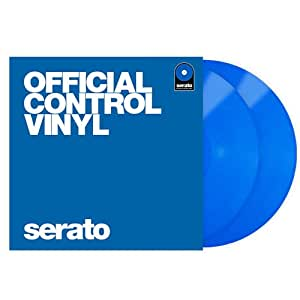 Serato Control Vinyl Performance Series (Blue) 2枚組 セラート コントロールレコード