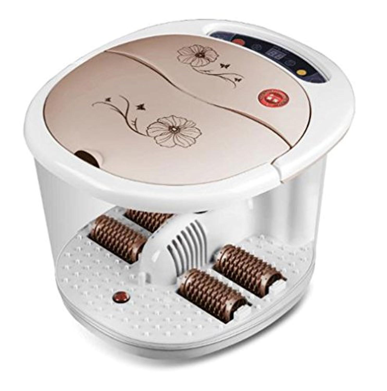足湯 ヒーターLEDペディキュアフットバス、赤外線温熱療法と磁気療法で足を治療する