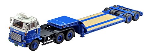 Tomicalimitedvintage neo 1/64 TLV-N173a Hino HH341 heavy equipment hauling trailer Tokyu TD302 (manufacturer limited edition) completed