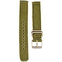 Seiko Military Automatic Olive Green Nylon 18mm Watch Strap