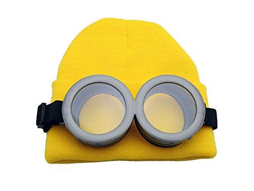 ゴーグル&黄色いニット帽セット なりきり コスプレ...