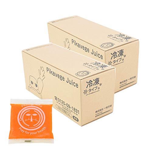 にんじん・りんご・レモンジュース 2箱  100cc×60パ...