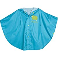 WHT Unisex Kid's Raincoat Baby Hooded Waterproof Rain Poncho
