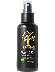 リルアルガン(LILARGAN) アルガンオイル 100ml (オーガニック 認証 モロッコ 製)