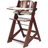 Keekaroo Height Right High Chair with Tray, Mahogany by Keekaroo [並行輸入品]