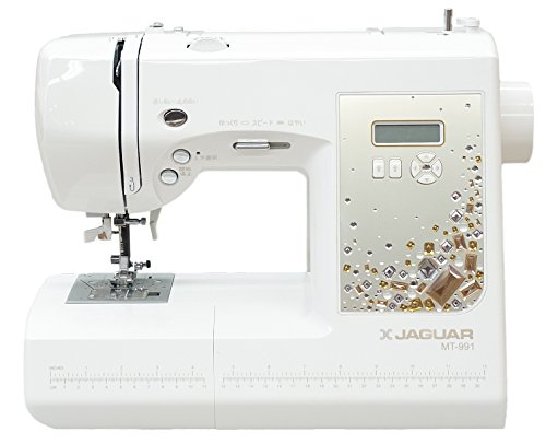 最新モデル ジャガーコンピュータミシン MT991 限定クリスタルゴールドパネル 特別仕様モデル