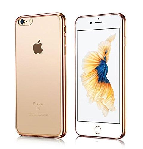 Iphone7/Iphone8ケース透明TPU 防塵 指紋防...
