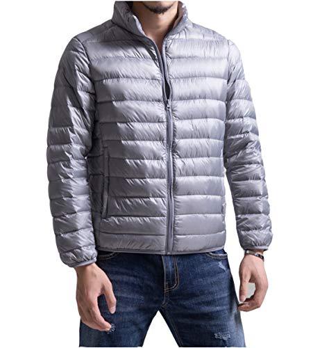 ダウンジャケット メンズ ウルトラライト ダウン コート 軽量 防風 防寒 コート 秋冬