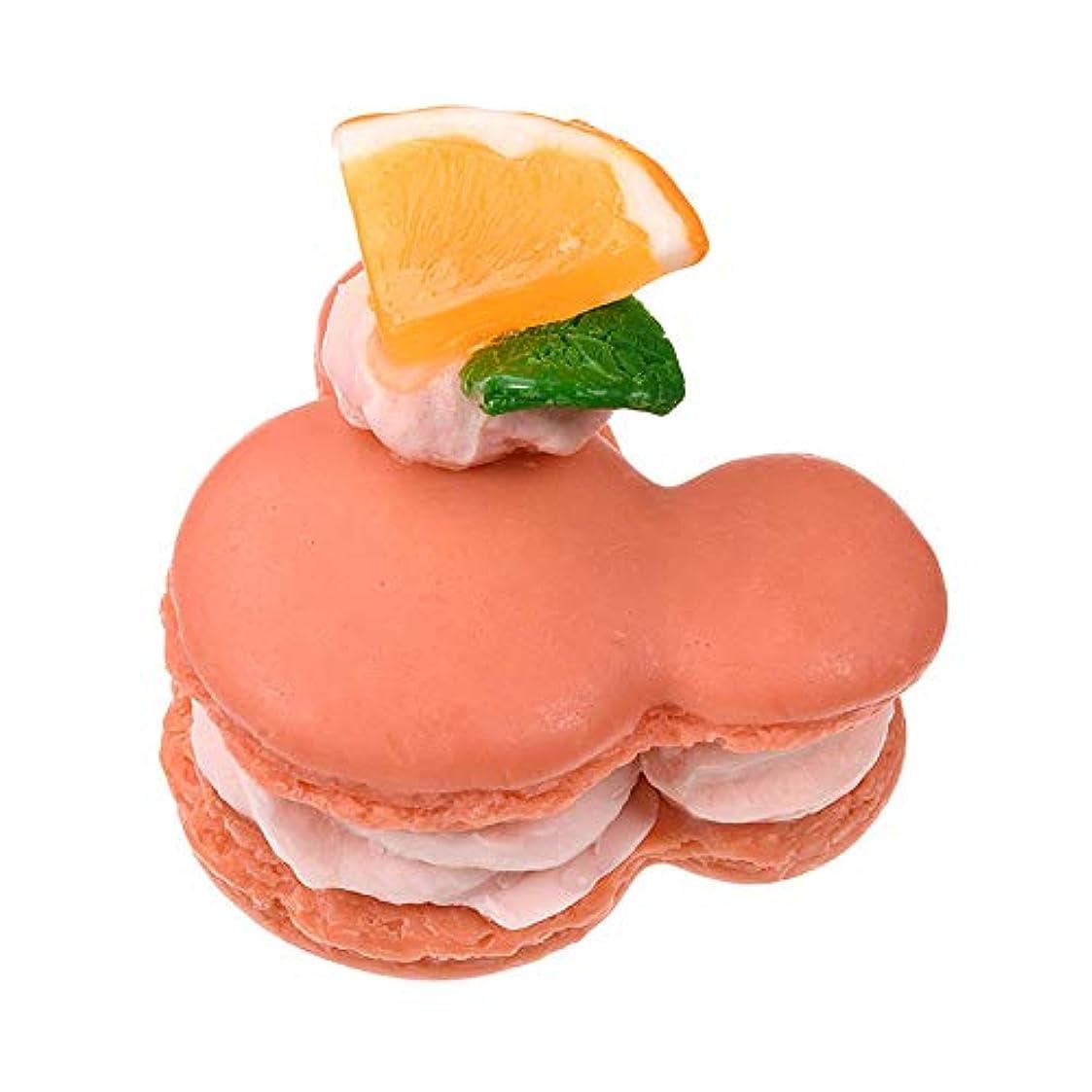 凝視無限大気がついてディズニーストア(公式)【liilii(リィリィ)(R)】マカロンソ-プ ミッキー オレンジ