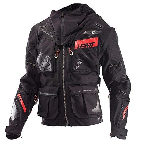 Leatt GPX 5.5 Enduroオフロードjacket-black / grey-s