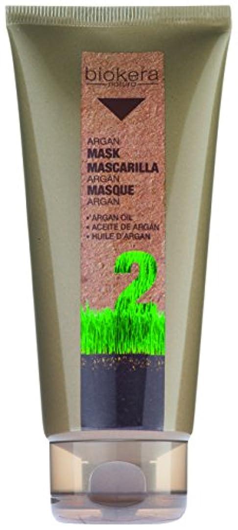 過言アグネスグレイガラガラSalerm Biokeraアルガンオイルマスク