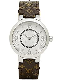 (ルイヴィトン) LOUIS VUITTON ルイヴィトン 時計 LOUIS VUITTON Q12MGB タンブール モノグラム PM 腕時計 ウォッチ ホワイト/ブラウン [並行輸入品]