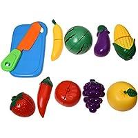SODIAL 1セット フルーツキッチン玩具子供プラスチック製トーイ 教育キットキッチン DIY用