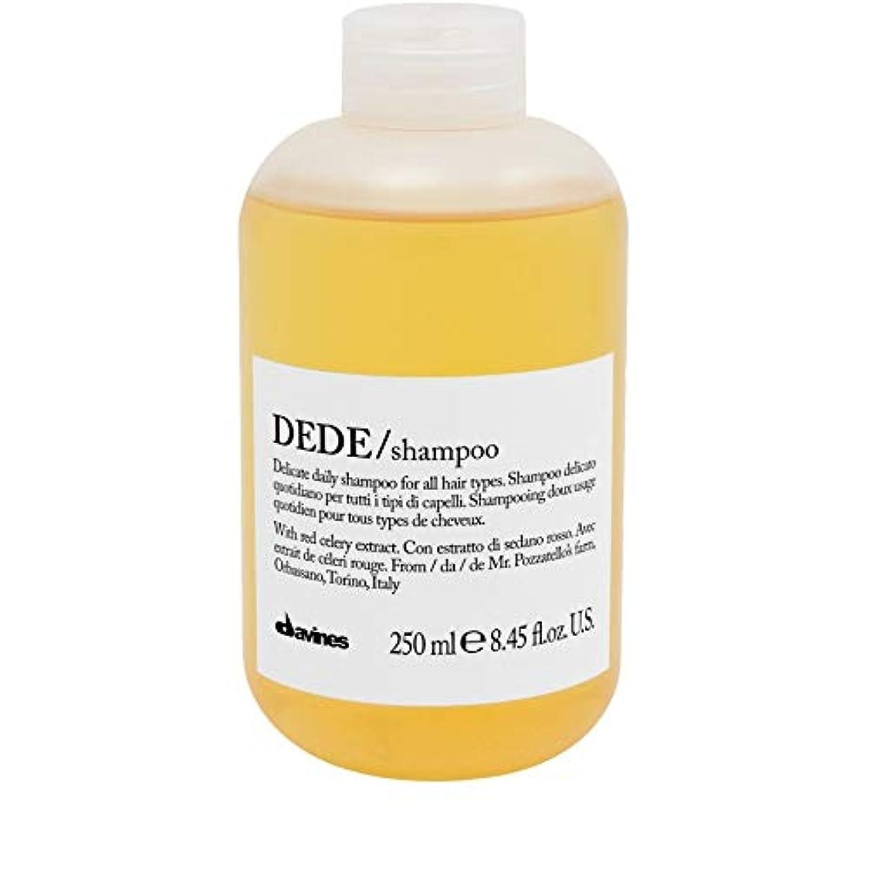 私達能力暗くする[Davines ] ダヴィネスDedeシャンプー250Ml - Davines Dede Shampoo 250ml [並行輸入品]