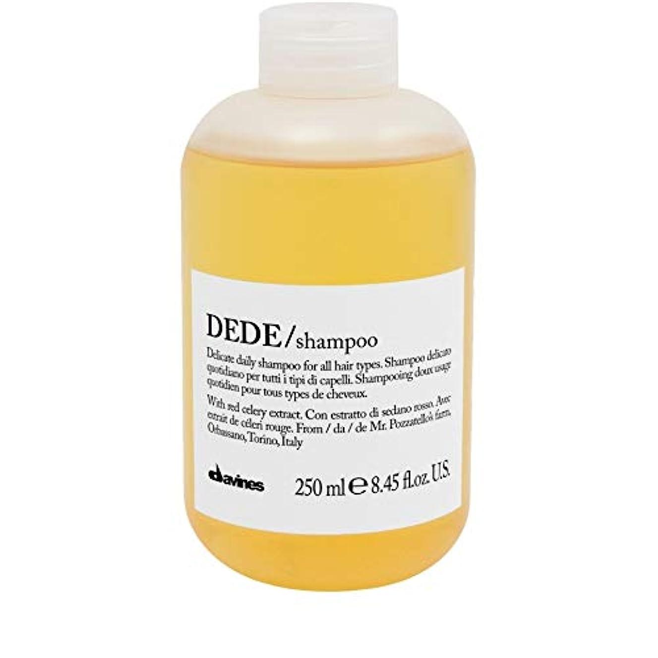 スプーン必需品小競り合い[Davines ] ダヴィネスDedeシャンプー250Ml - Davines Dede Shampoo 250ml [並行輸入品]