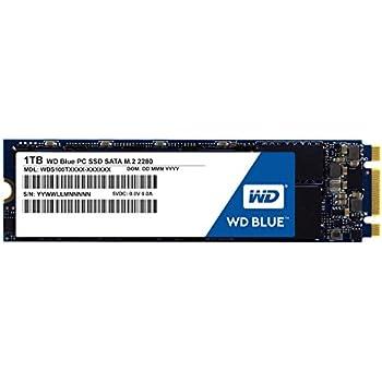 WD SSD 内蔵SSD M.2 2280 1TB WD Blue WDS100T1B0B/SATA3.0/3年保証