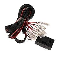 F Fityle ユニバーサル カー CCFL/LED配線キット ズライト ワイヤー ハーネスコネクタ