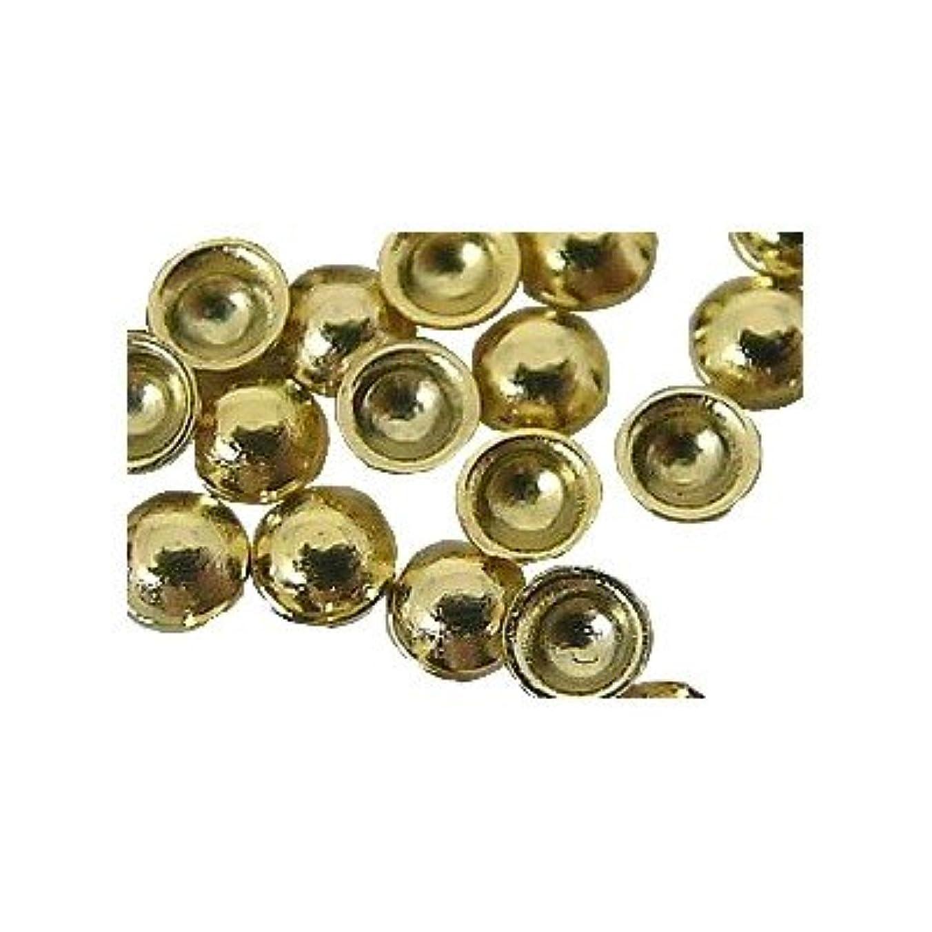 アクセスできない四分円メーターピアドラ スタッズ 2.0mm 100P ゴールド