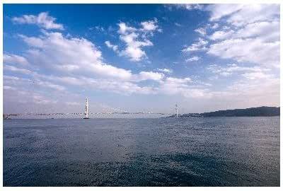 兵庫県 明石市 明石海峡大橋のポストカード葉書はがき Photo by絶景.com