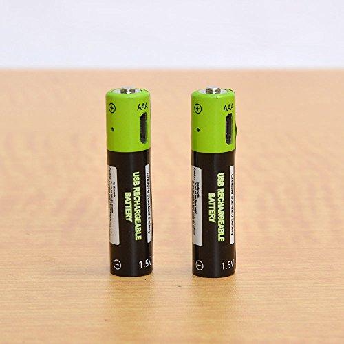 サンコー『充電器不要!USB充電できる乾電池 単3形2本セット』