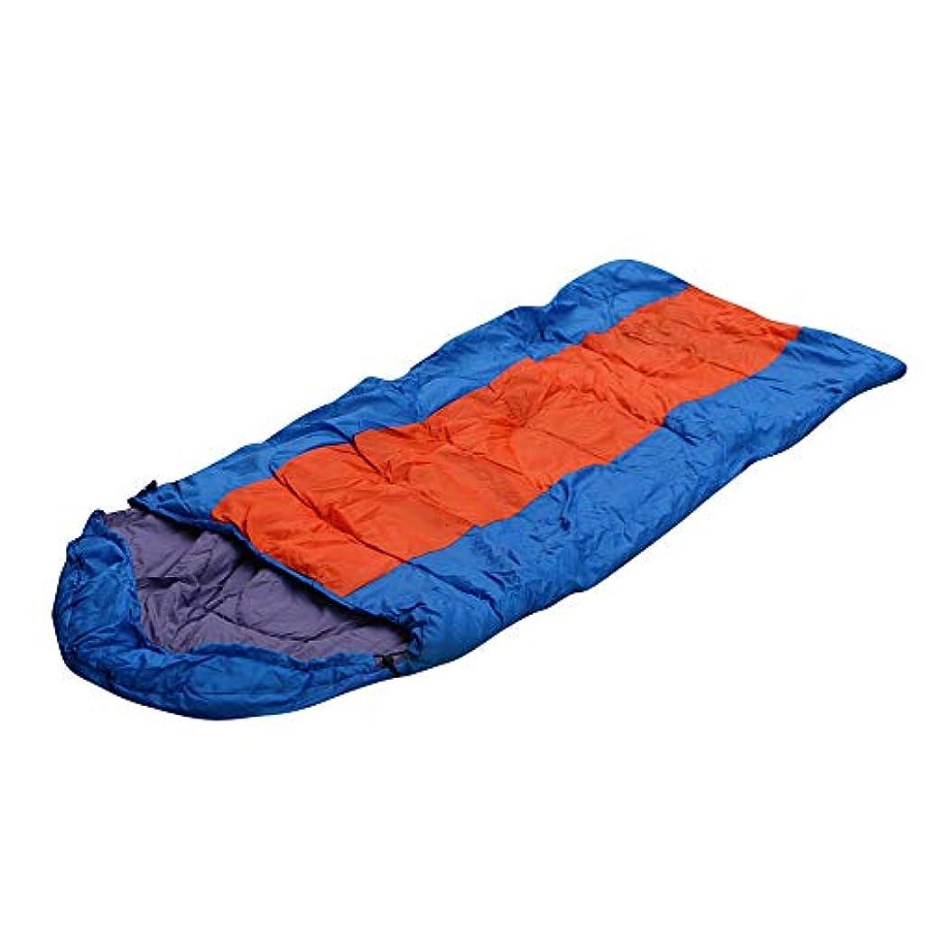 背骨資産飢饉1ピースUnversalキャンプ寝袋軽量春秋寝袋屋外ハイキングキャンプ旅行キャンプ