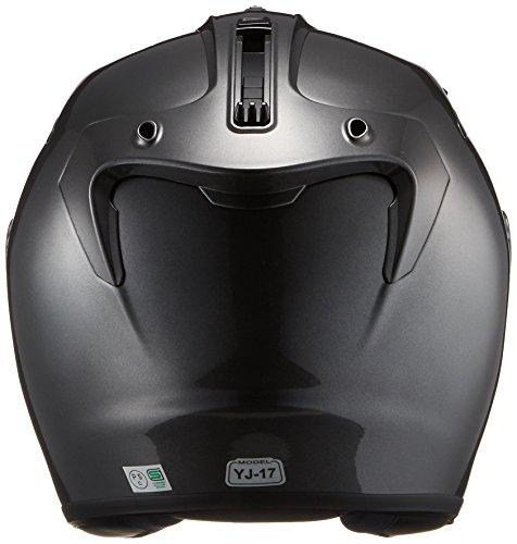 YAMAHA (ヤマハ)  バイクヘルメット ジェット YJ-17 ZENITH-P ダークメタリックシルバー 90791-2323X XL (頭囲 61cm~62cm未満) B01BBMTF5Q 1枚目