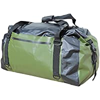 Cor Surf Waterproof Duffel Dry Bag | 60L | Durable and Versatile | Green or Black