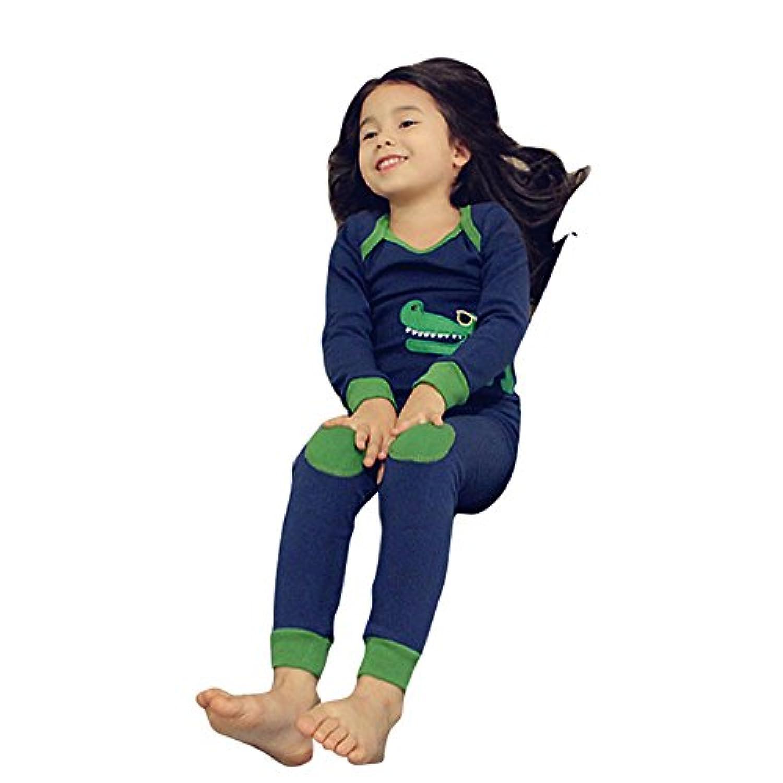 パジャマ 長袖パジャマ ルームウェア 子供服 寝間着 上下セット 寝巻き キッズ 女の子 男の子 上下セット ボーイズ ガール ベビー 100cm-150cm 2-14歳 プレゼント Meedot