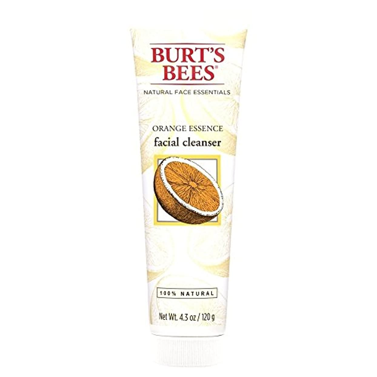 直径仕事に行く北米バーツビーオレンジエッセンス洗顔料、125グラム (Burt's Bees) - Burt's Bees Orange Essence Facial Cleanser, 125g [並行輸入品]