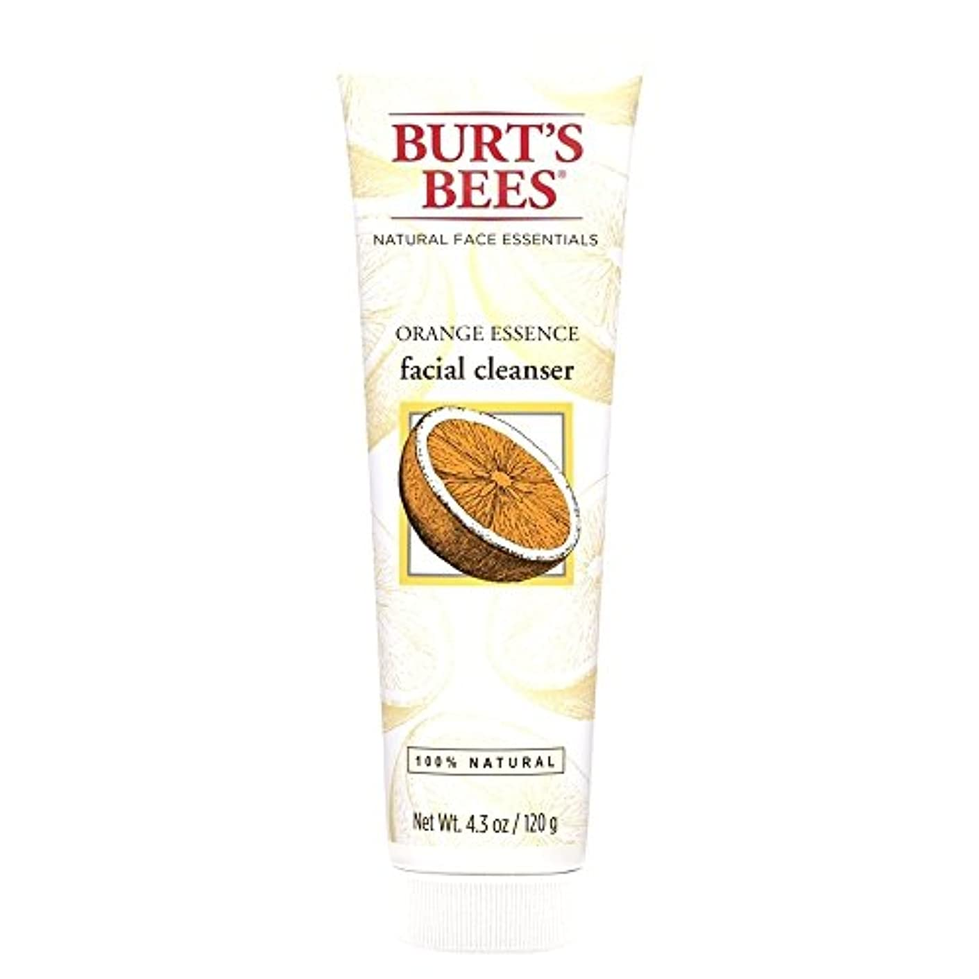 中絶整然とした読むバーツビーオレンジエッセンス洗顔料、125グラム (Burt's Bees) (x2) - Burt's Bees Orange Essence Facial Cleanser, 125g (Pack of 2) [並行輸入品]