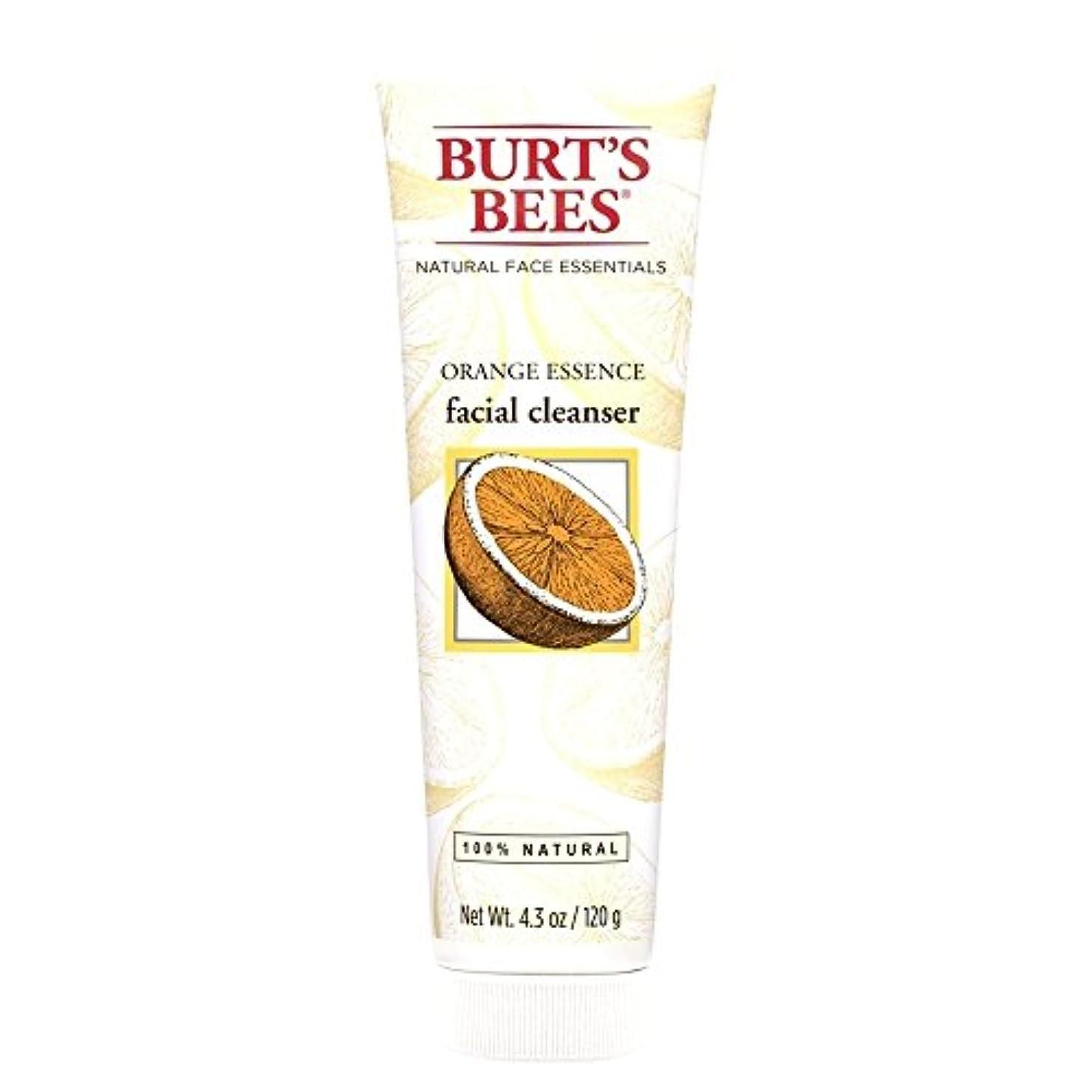 ロールアナリストキャンパスバーツビーオレンジエッセンス洗顔料、125グラム (Burt's Bees) (x6) - Burt's Bees Orange Essence Facial Cleanser, 125g (Pack of 6) [並行輸入品]