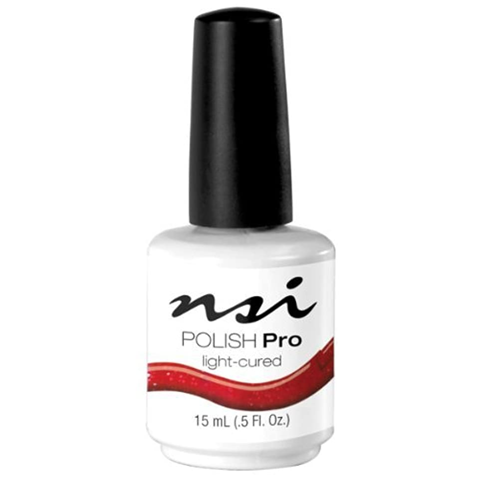 敗北長々とに応じてNSI Polish Pro Gel Polish - Crimson - 0.5oz / 15ml