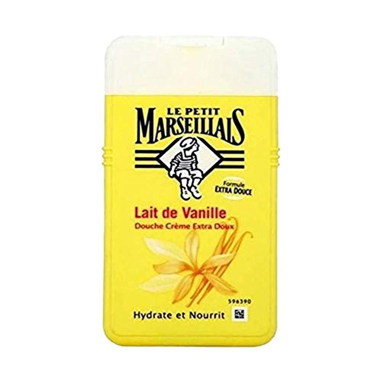 庭園聴覚地域ル?プティ?マルセイユ (Le Petit Marseillais) バニラミルク シャワークリーム ボディウォッシュ 250ml