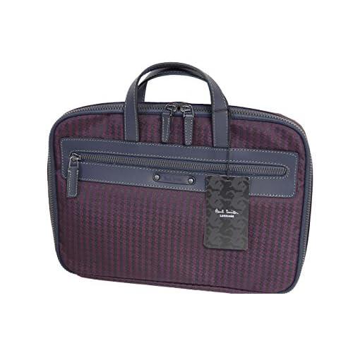 ポールスミス Paul Smith PCケース ビジネスバッグ パープル571207 新品正規品