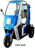 アクセス 電動ミニカー 一人乗り 3輪 LAVITA mini ラヴィータミニ 鉛電池 最高速度42km/h 航続70km 通勤・外回り営業に便利 ミニカー登録 ヘルメット不要 ライトブルー