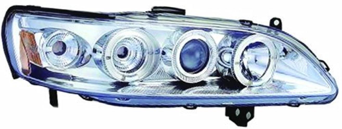アンビエント移動する発見するIPCW CWS-712C2 Honda Accord 1998 - 2002 Head Lamps, Projector With Rings & Corners Chrome