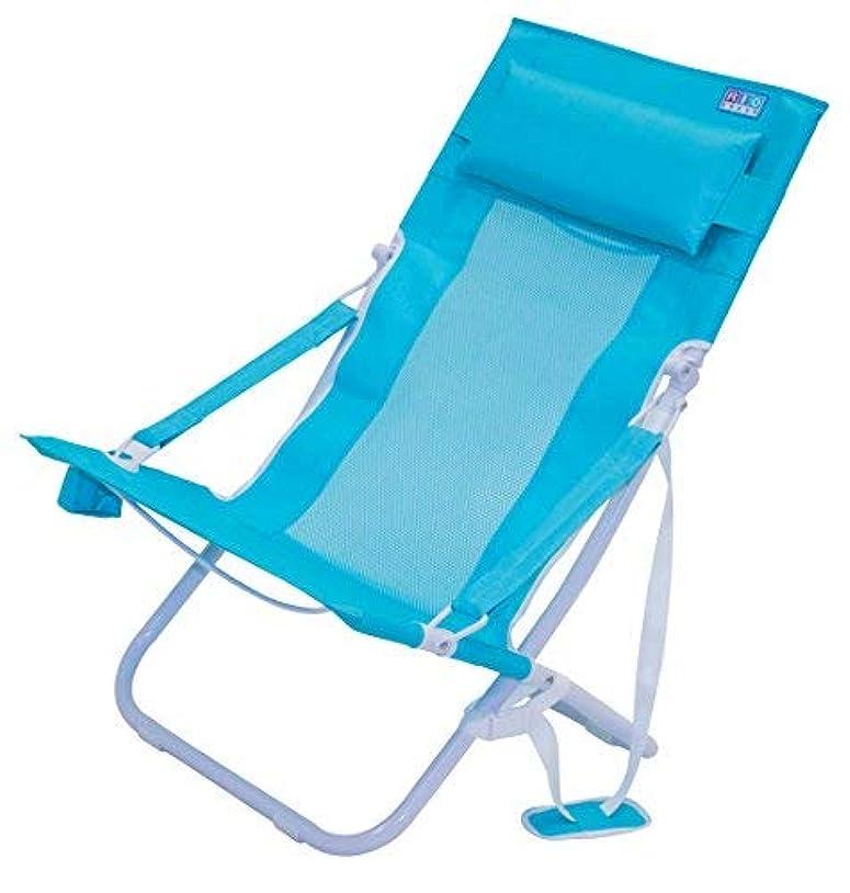 老人怖がって死ぬ凍結Rio Beach Portable Compact Fold Breeze Beach Sling Chair, Teal [並行輸入品]