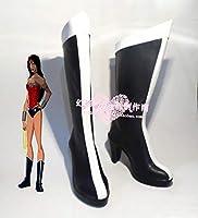 Slolita No. 564ジャスティスリーグワンダーウーマンワンダーウーマンダイアナ コスプレ靴 cosplay コス 靴 ブーツ 下駄 ハイヒール シューズ (27cm)