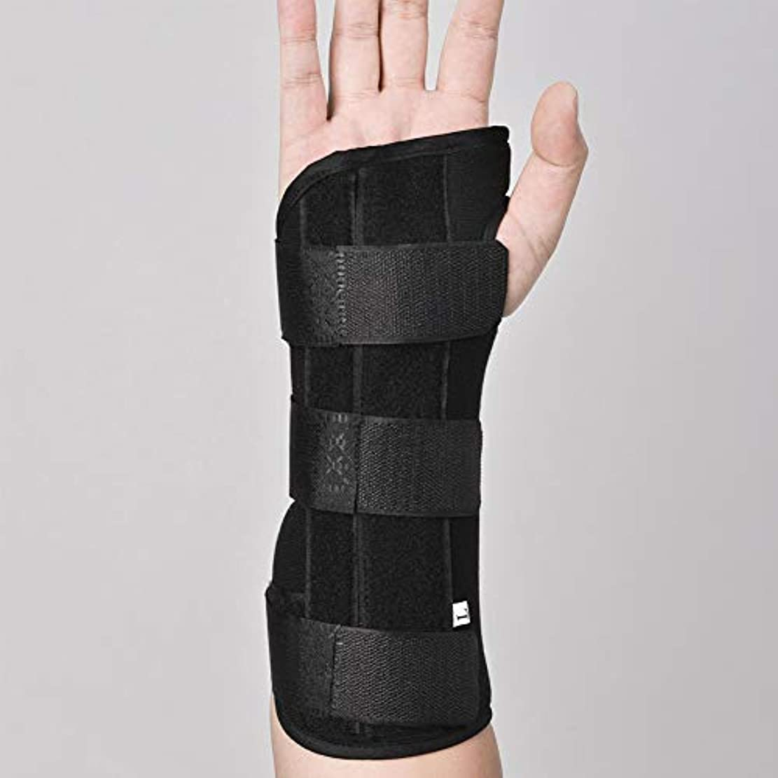 捻挫および成人用に適した関節炎のためのアルミニウム副木矯正ストラップ痛み緩和と手首の関節,Lefthand,S