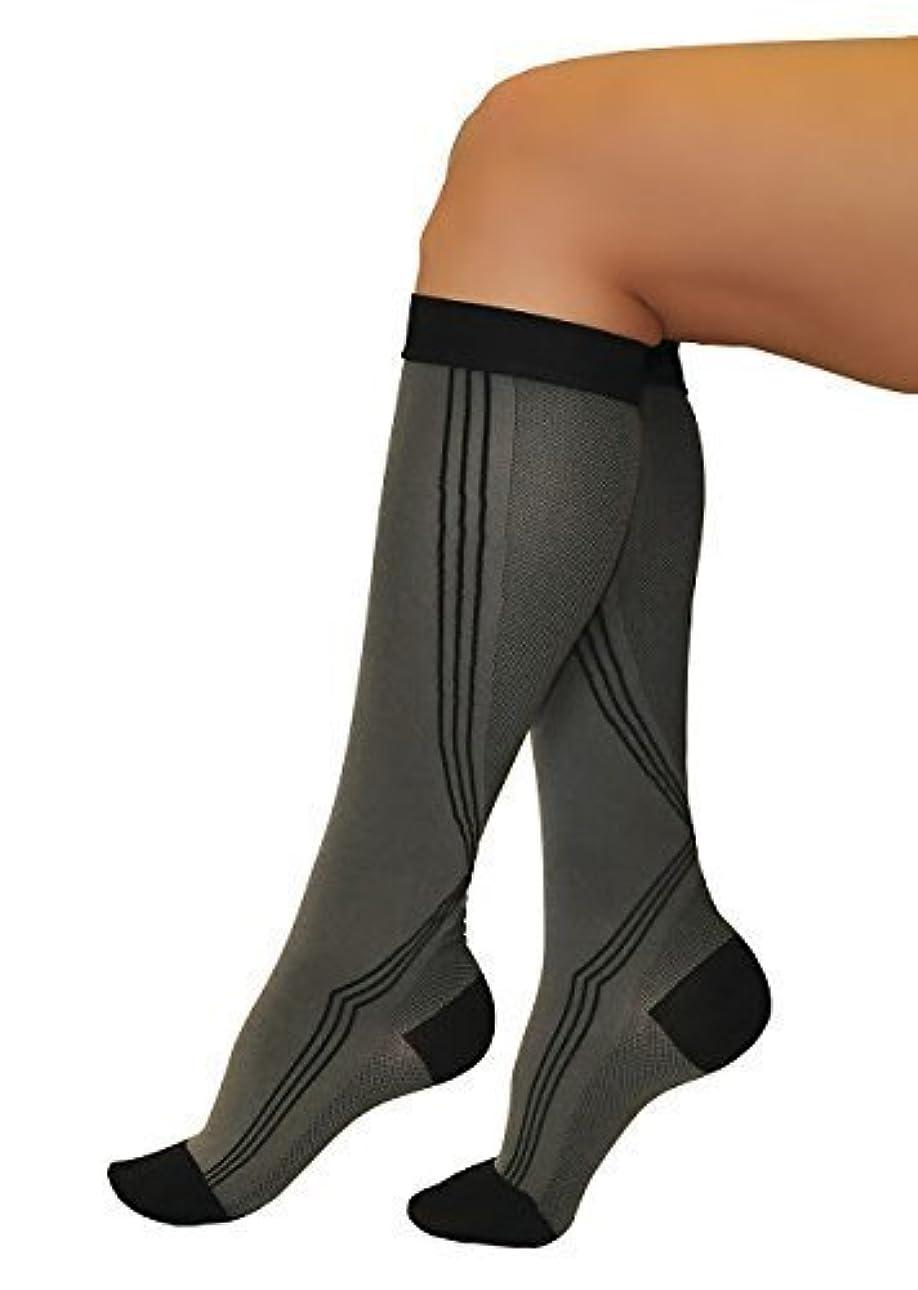 メニュー診断するすなわちINFINITUM MEDICAL Compression ACTIV LINE Long Socks with CLOSED Toe, FIRM Grade Class I (18-21mmHg) (Class 1 18...