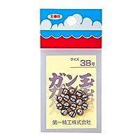 第一精工 ガン玉50円 3B