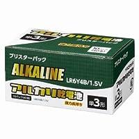 ヤザワ 【ケース販売特価 320本セット】 アルカリ乾電池 単3形 4本パック×80 ブリスターパック LR6Y4B_set