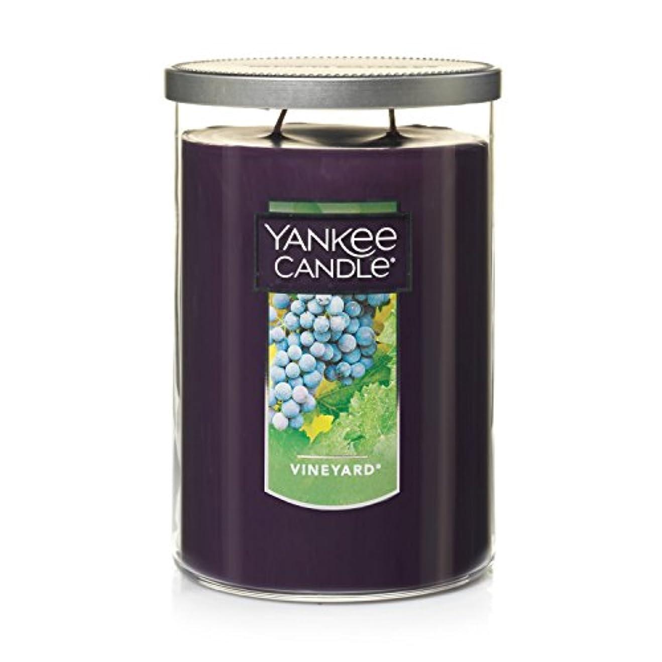 つかいますフィドル誰もYankee Candle Vineyard、フルーツ香り Large Tumbler Candles パープル 1184177Z