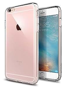 【Spigen】 スマホケース iPhone6s Plus ケース / iPhone6 Plus ケース 対応 全面クリア 耐衝撃 米軍MIL規格取得 ウルトラ・ハイブリッド SGP11644 (クリスタル・クリア)