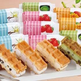 神戸メリケンパークオリエンタルホテル 「神戸 人気のアイス・イン・ワッフル(A-KLB)」 | アイスクリーム・氷菓 通販