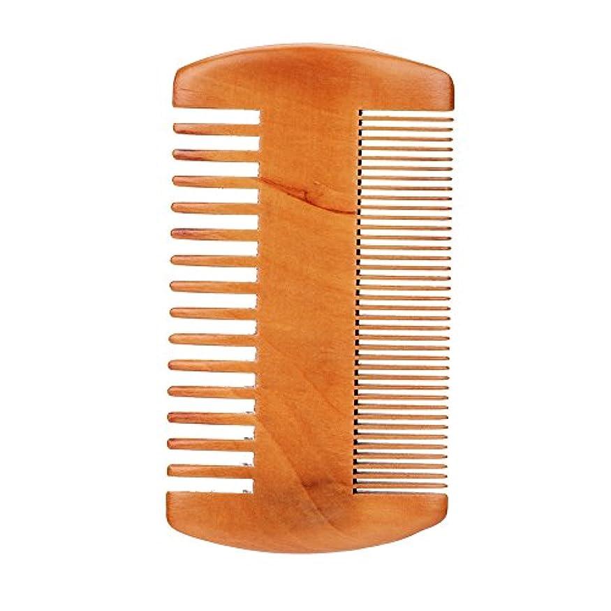 結果繊維磁気男性用ひげケアキット、顔用ひげアナグマ+櫛+はさみフェイシャルマッサージ専用のひげ剃り専用キット(#2)