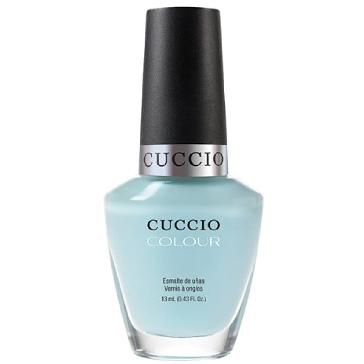 捧げる抽象アクチュエータCuccio Colour Gloss Lacquer - Meet Me in Mykonos - 0.43oz / 13ml