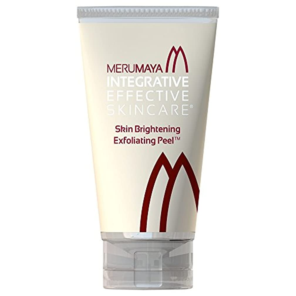 Merumayaスキンブライトニングピーリング剥離?の50ミリリットル (Merumaya) (x6) - MERUMAYA Skin Brightening Exfoliating Peel? 50ml (Pack of...