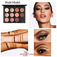 MAC マック Art Library Eyeshadow Paletteアイシャドウ パレット12色NUDE MODEL [並行輸入品]